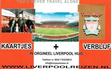 Advertentie van Liverpoolreizen.nl