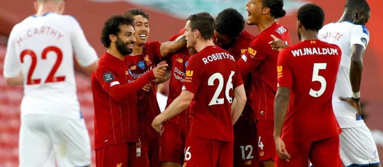 Verslag; Liverpool F.C. - Crystal Palace