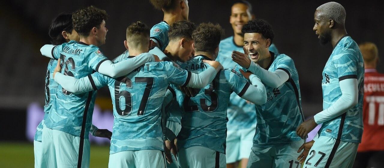 Verslag; Lincoln City - Liverpool F.C.