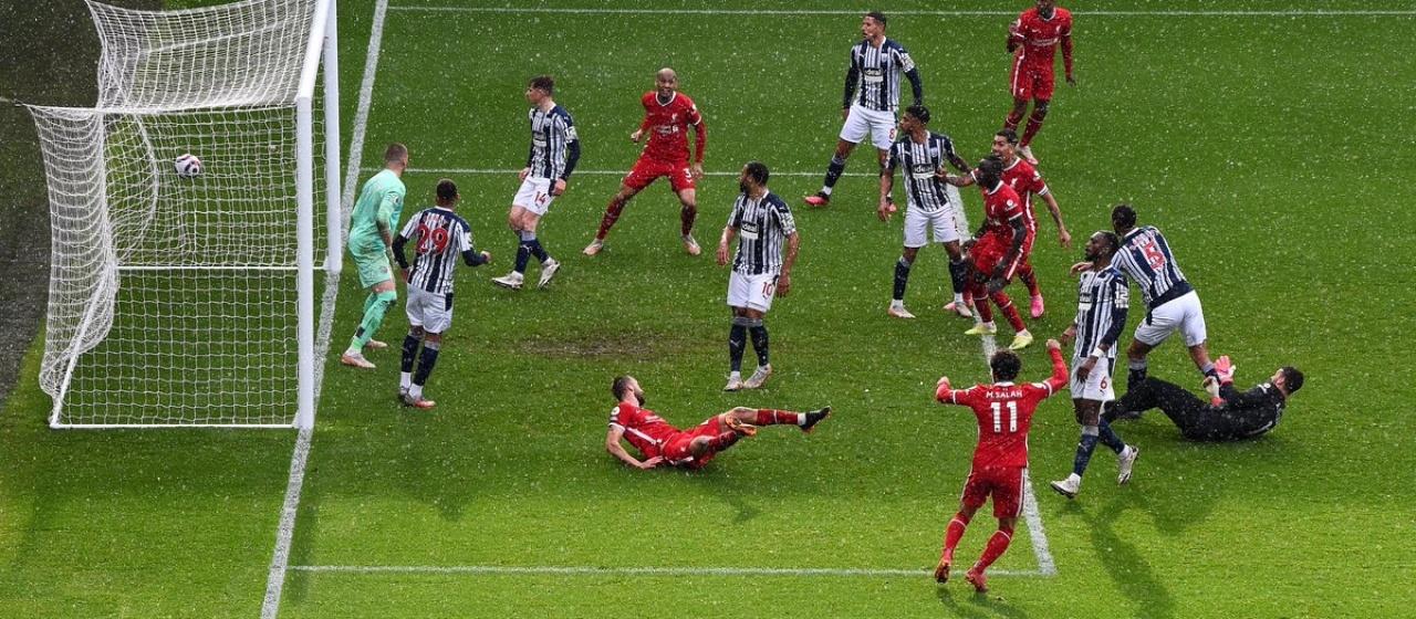 Verslag; West Bromwich Albion - Liverpool F.C.