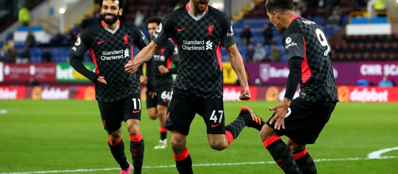 Verslag; Burnley - Liverpool F.C.