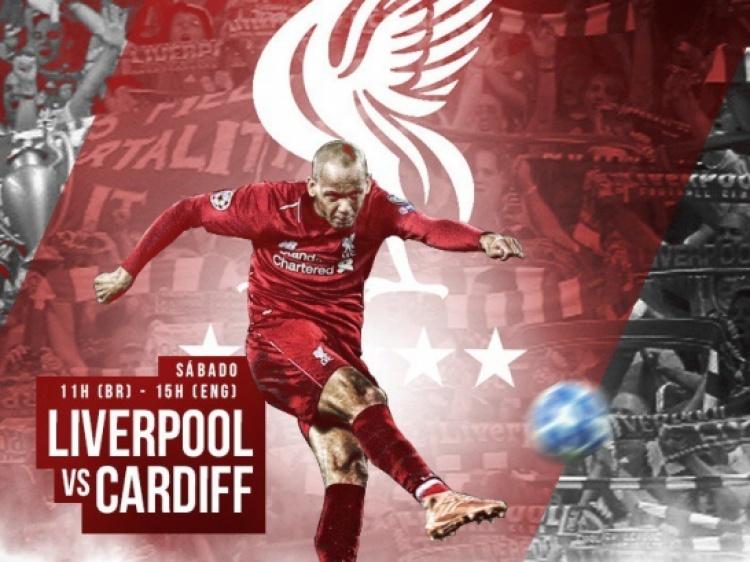 Foto Verslag; Liverpool F.C. - Cardiff City
