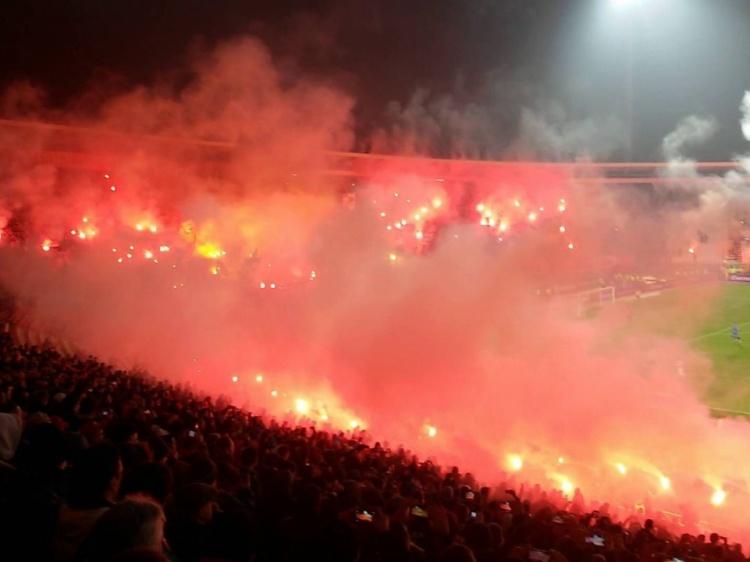 Foto Rode Ster Belgrado - Liverpool