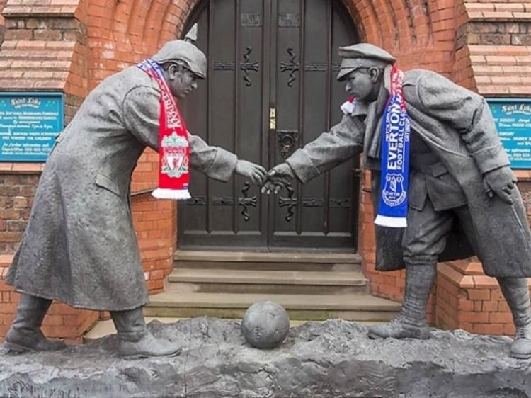 Foto Verslag; Everton - Liverpool F.C.