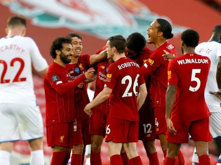 Foto Verslag; Liverpool F.C. - Crystal Palace
