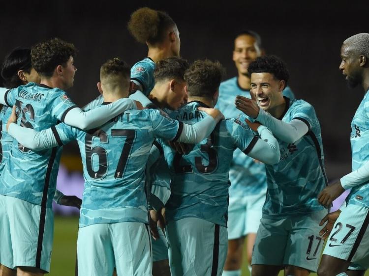 Foto Verslag; Lincoln City - Liverpool F.C.
