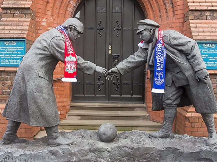 Foto Liverpool vs Everton